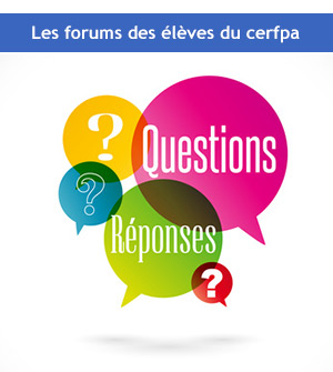 Les Forums CERFPA